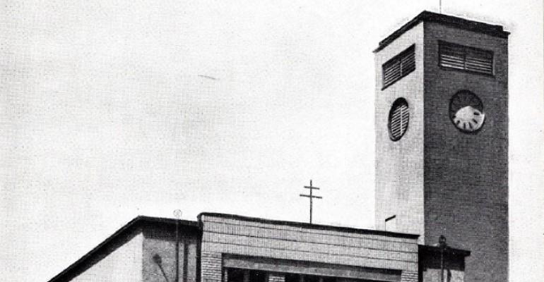 Husův sbor na fotografii z roku 1933. Foto: Archiv Vítkovic, a. s.
