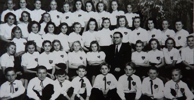 Hrabůvští zpěváčci ve 40. letech 20. století