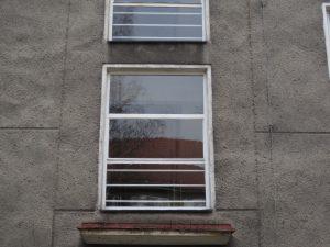 Původní chodbová okna