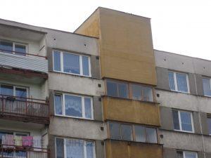 Chodobová okna a předsazená strojovna výtahu