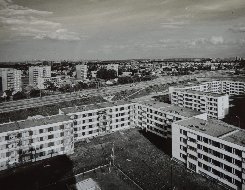 Zábřeh, nízka zástavba na ulicích Rottrova a Tylova. AMO
